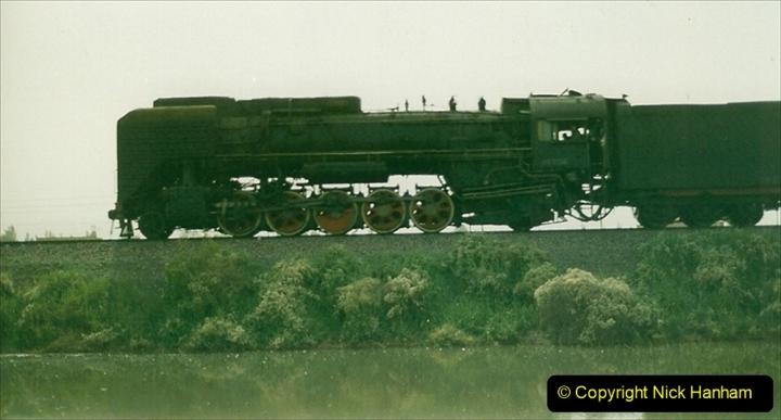 Pakistan and China 1996 June. (389) More linesiding. 389