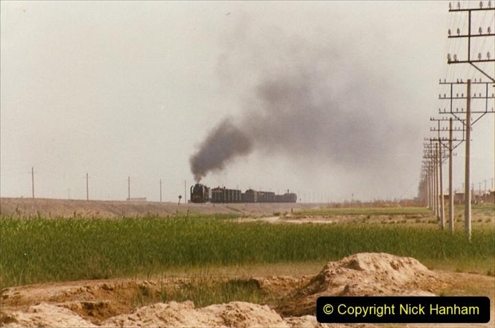 Pakistan and China 1996 June. (397) Rural linesiding. 397