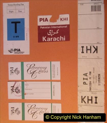 Pakistan and China 1996 June. (4) London to Karachi. 004