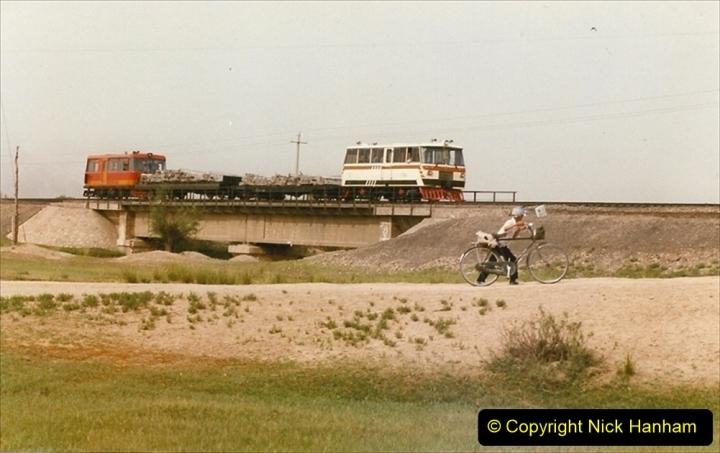 Pakistan and China 1996 June. (401) Rural linesiding. 401