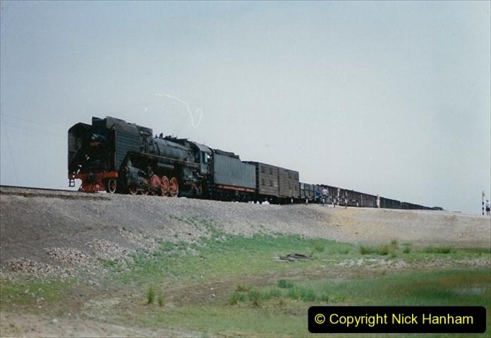 Pakistan and China 1996 June. (403) Rural linesiding. 403