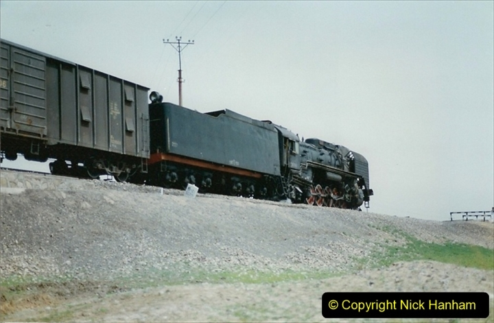 Pakistan and China 1996 June. (404) Rural linesiding. 404