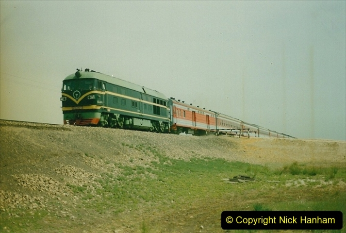 Pakistan and China 1996 June. (407) Rural linesiding. 407