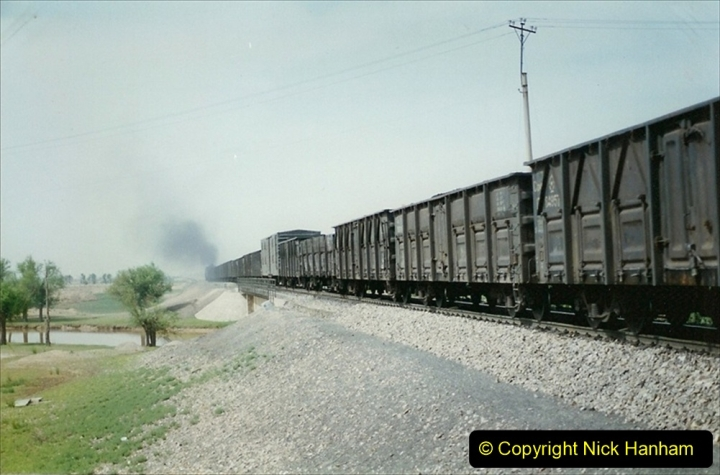 Pakistan and China 1996 June. (409) Rural linesiding. 409