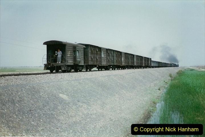 Pakistan and China 1996 June. (410) Rural linesiding. 410