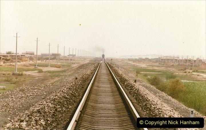 Pakistan and China 1996 June. (411) Rural linesiding. 411