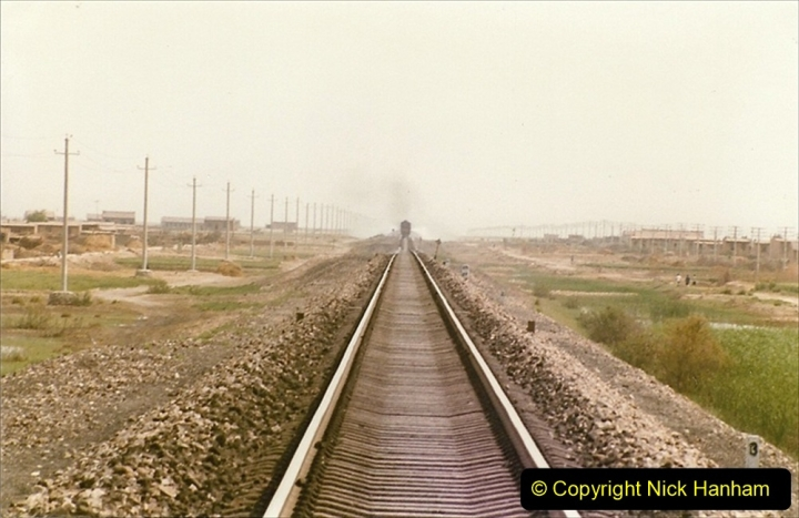 Pakistan and China 1996 June. (412) Rural linesiding. 412