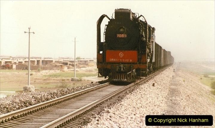Pakistan and China 1996 June. (413) Rural linesiding. 413