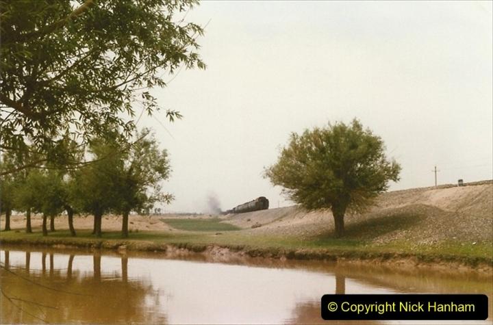 Pakistan and China 1996 June. (416) Rural linesiding. 416