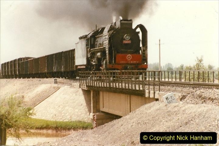 Pakistan and China 1996 June. (417) Rural linesiding. 417