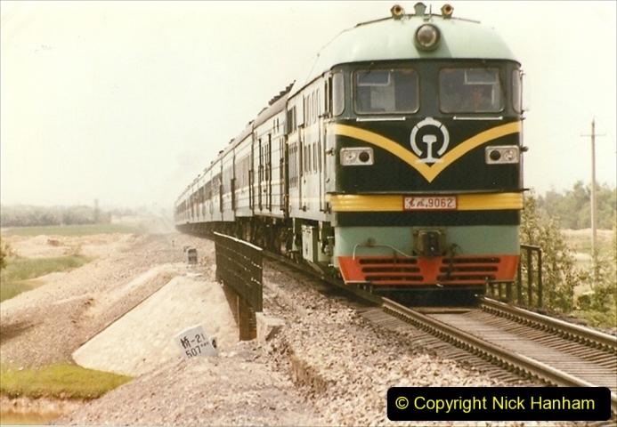Pakistan and China 1996 June. (418) Rural linesiding. 418