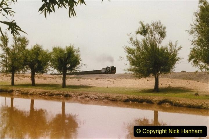Pakistan and China 1996 June. (419) Rural linesiding. 419