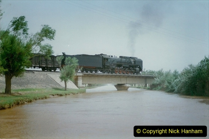 Pakistan and China 1996 June. (423) Rural linesiding. 423