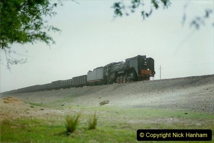 Pakistan and China 1996 June. (428) Rural linesiding. 428