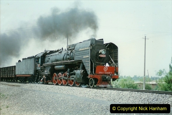 Pakistan and China 1996 June. (431) Rural linesiding. 431
