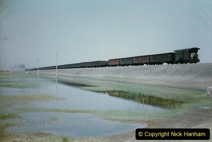 Pakistan and China 1996 June. (432) Rural linesiding. 432