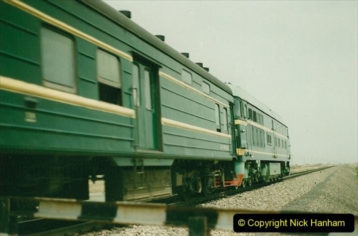 Pakistan and China 1996 June. (434) Rural linesiding. 434