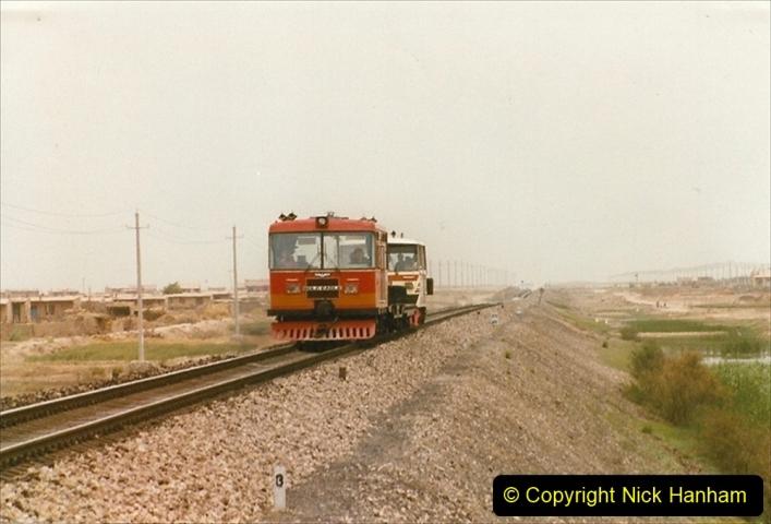 Pakistan and China 1996 June. (437) Rural linesiding. 437