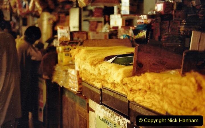 Pakistan and China 1996 June. (49) Karachi.  Local Market. 049
