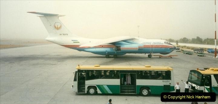 Pakistan and China 1996 June. (5) Islamabad fuel stop. 005