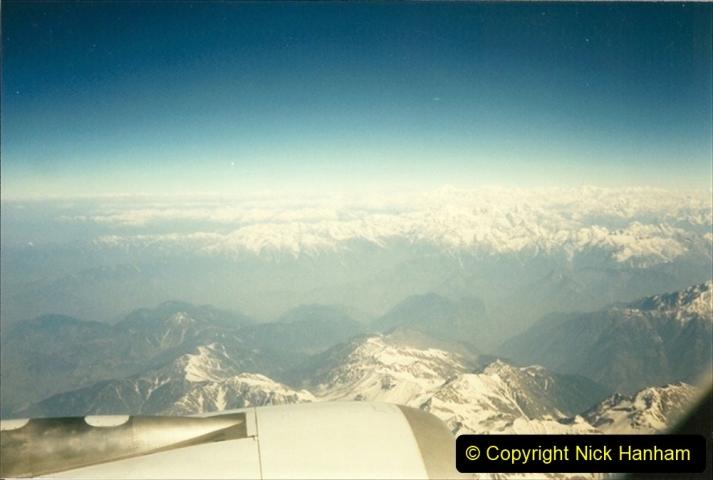 Pakistan and China 1996 June. (60) Karachi to Beijing. 060