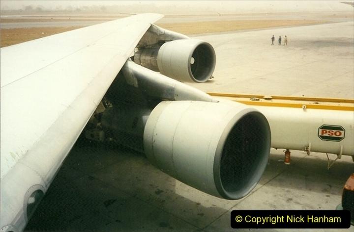 Pakistan and China 1996 June. (7) Islamabad fuel stop. 007