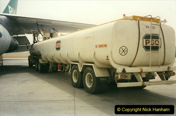 Pakistan and China 1996 June. (8) Islamabad fuel stop. 008