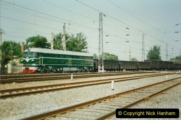 Pakistan and China 1996 June. (88) Fungti Yard. DF4. 088