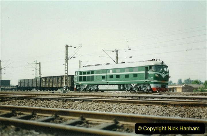 Pakistan and China 1996 June. (92) Fungti Yard. 092
