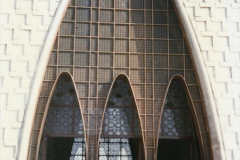 Pakistan and China 1996 June. (19) Jinnah Mausoleum. Jinnah Ali Jinnah, founder of Pakistan, is burried here. 019