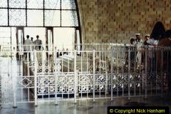 Pakistan and China 1996 June. (21) Jinnah Mausoleum. Jinnah Ali Jinnah, founder of Pakistan, is burried here. 021