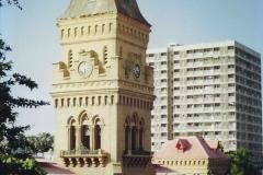 Pakistan and China 1996 June. (52) Karachi.  Local Market. 052