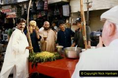 Pakistan and China 1996 June. (53) Karachi.  Local Market. 053