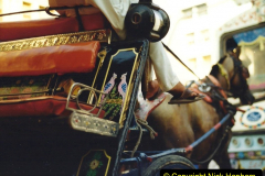 Pakistan and China 1996 June. (55) Karachi.  Local Market. 055
