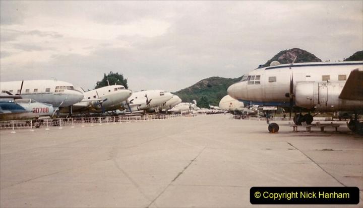 Pakistan and China 1996 June. (144) Aircraft Museum near Beijing. 144