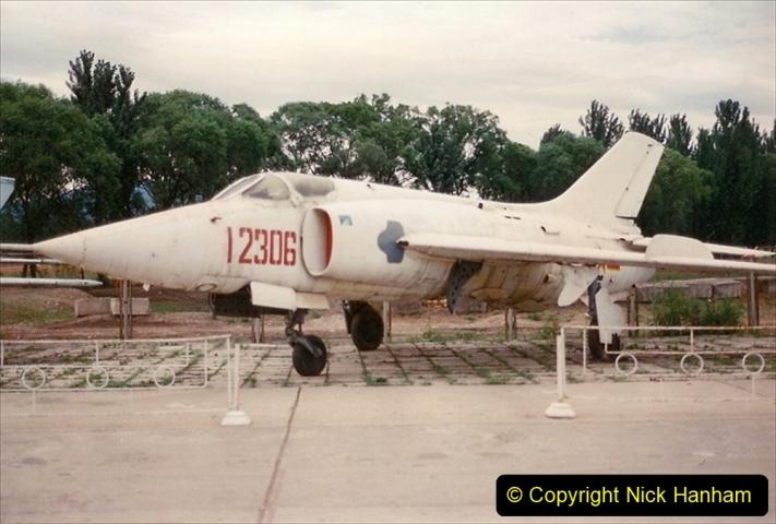 Pakistan and China 1996 June. (145) Aircraft Museum near Beijing. 145