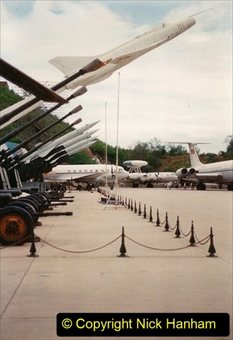 Pakistan and China 1996 June. (148) Aircraft Museum near Beijing. 148