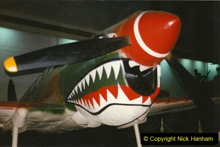 Pakistan and China 1996 June. (149) Aircraft Museum near Beijing. 149
