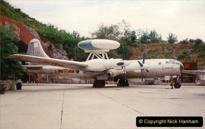 Pakistan and China 1996 June. (150) Aircraft Museum near Beijing. 150