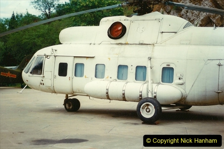 Pakistan and China 1996 June. (151) Aircraft Museum near Beijing. 151