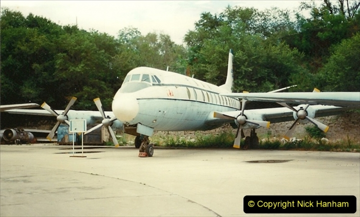 Pakistan and China 1996 June. (152) Aircraft Museum near Beijing. 152