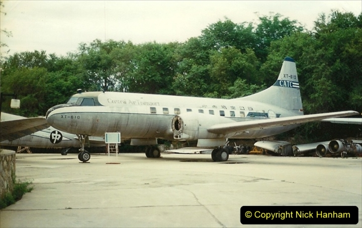 Pakistan and China 1996 June. (153) Aircraft Museum near Beijing. 153