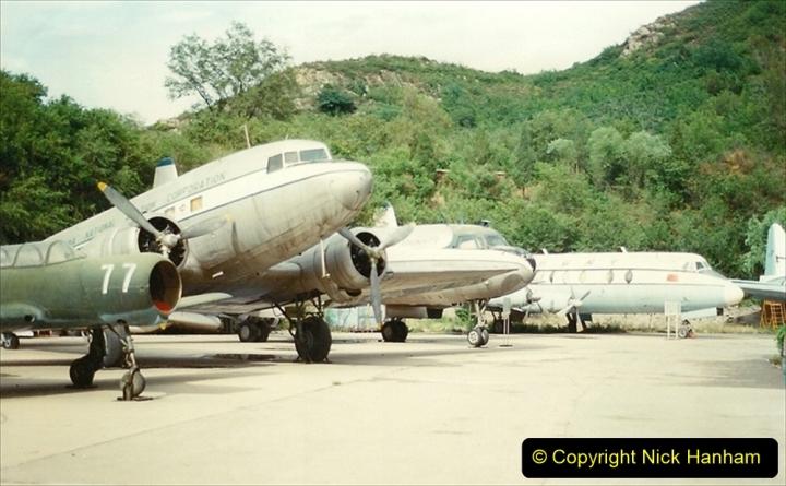 Pakistan and China 1996 June. (155) Aircraft Museum near Beijing. 155