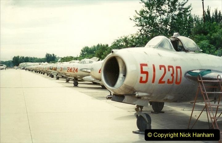 Pakistan and China 1996 June. (157) Aircraft Museum near Beijing. 157