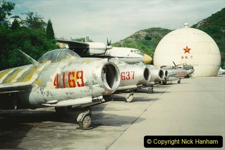 Pakistan and China 1996 June. (158) Aircraft Museum near Beijing. 158