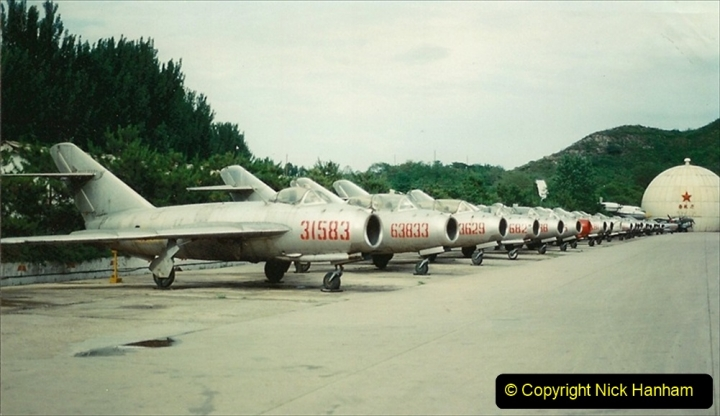 Pakistan and China 1996 June. (160) Aircraft Museum near Beijing. 160