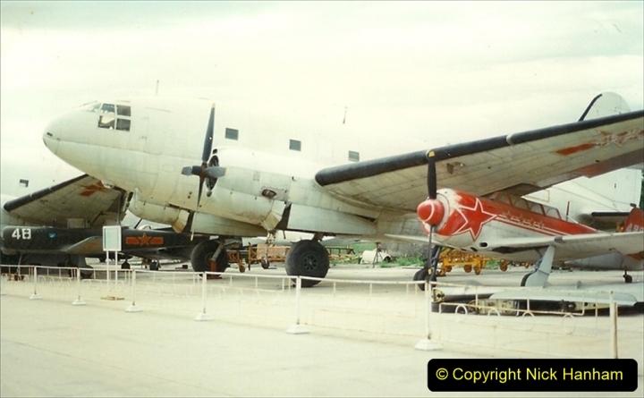Pakistan and China 1996 June. (162) Aircraft Museum near Beijing. 162