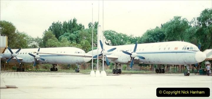 Pakistan and China 1996 June. (166) Aircraft Museum near Beijing. 166