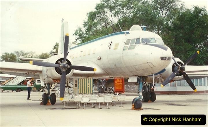 Pakistan and China 1996 June. (168) Aircraft Museum near Beijing. Mao Zedone personal Plane. 168