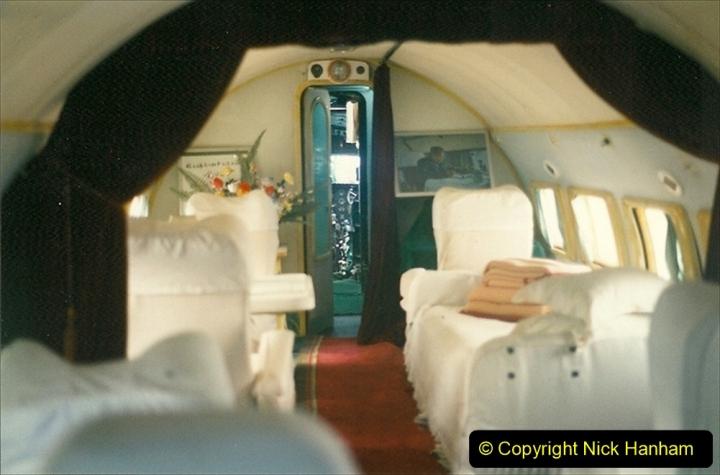 Pakistan and China 1996 June. (170) Aircraft Museum near Beijing. Mao Zedone personal Plane. 170